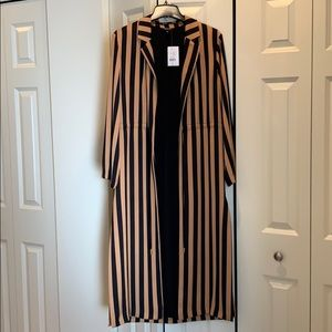 NWT Gold/Black Duster